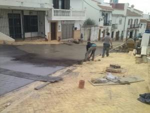Calle Pedreta y Plaza Pozo del rey - Manilva