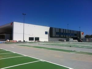 Centro deportivo y acuatico de Huelin - Málaga